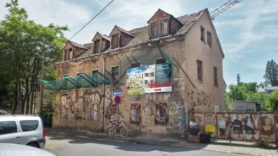 Scheunenhofstraße vor dem Abriss - Foto: Ray van Zeschau
