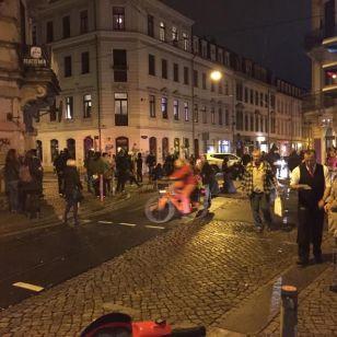 Soziale Ecke besetzt - Foto: mg