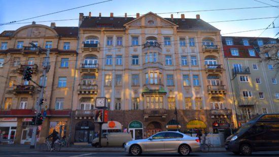 Prachtbau auf der Bautzner Straße