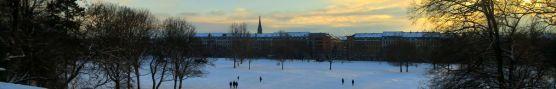 Alaunplatz im Januar
