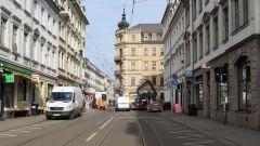 Weichenwartung an der Rothenburger Straße