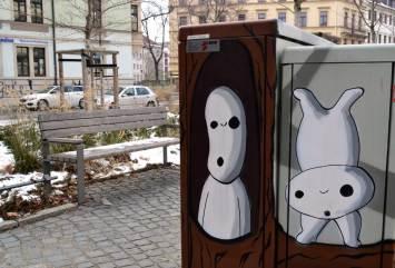 Huldigung an den japanischen Filmemacher Hayao Miyazaki - Bautzner Straße