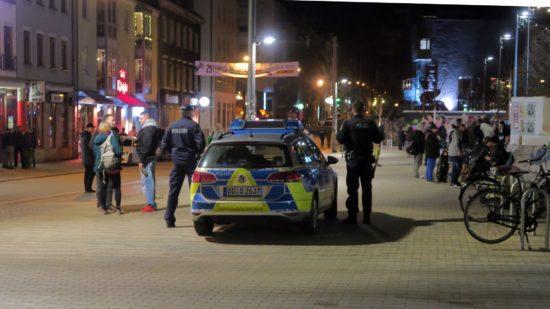 Polizeieinsatz an der Alaunstraße - Foto: Archiv/März 2017