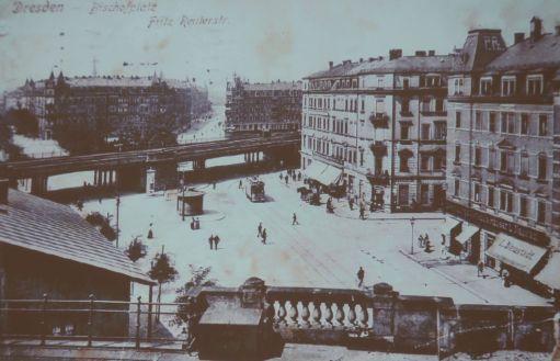 Historische Aufnahme vom Bischofsplatz