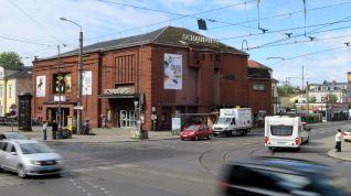 Schauburg an der Kreuzung Königsbrücker Straße Bischofsweg