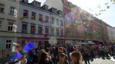Geschmückte Louisenstraße