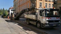 Louisenstraße wird ausgefräst