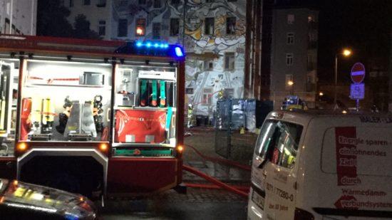 Kurz nach halb Eins war der Brand gelöscht.