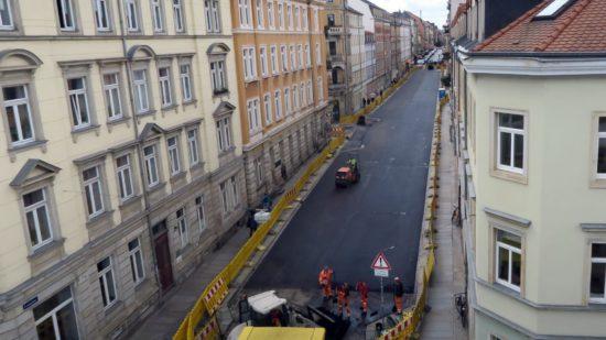 Im Plan: Louisenstraßensanierung