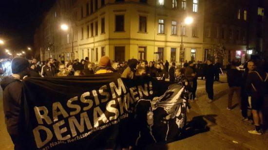 Protestkundgebung nach der Abschiebung - Foto: AvB