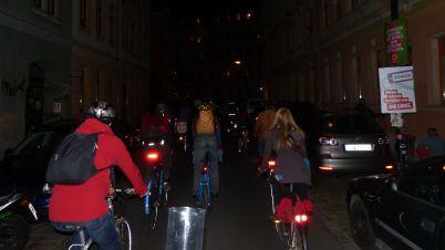 Eindrücke von der ersten Dresdner Radnacht - Foto: ADFC