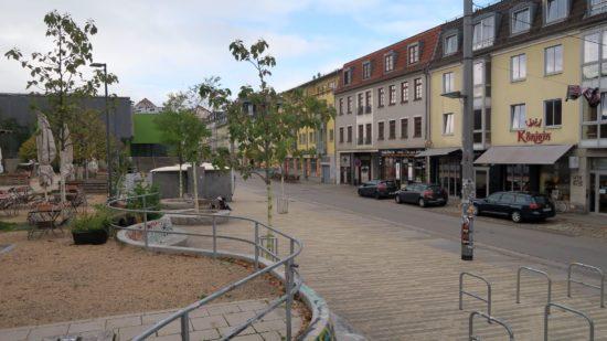 Scheunevorplatz am Vormittag