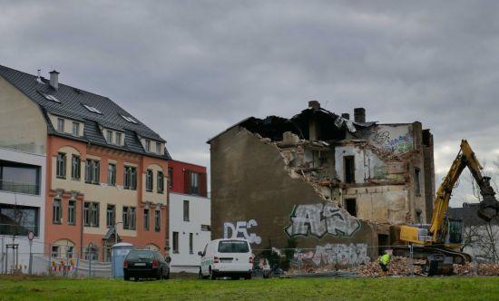 Die Wohnungen für den Neubau sind schon alle verkauft.