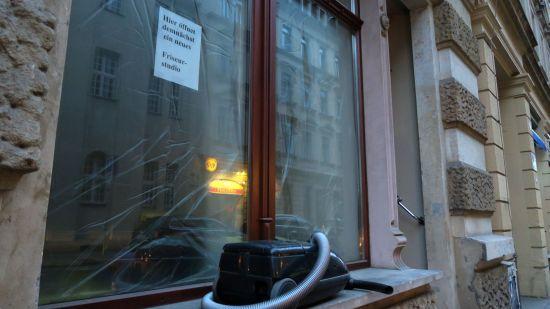 Bald ein neuer Friseur in der Louisenstraße 19
