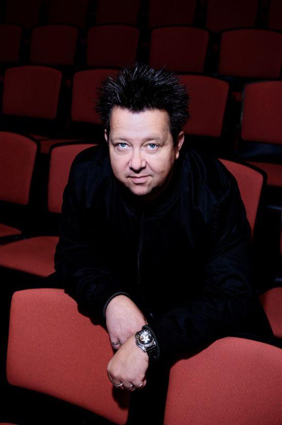Sebastian Krumbiegel am 7. Januar im Tom Pauls Theater Pirna