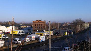 das Gelände am Alten Leipziger Bahnhof