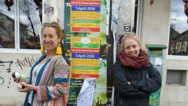"Julia Schlösser und Kristina Reed starten am Sonnabend den ""Libereco de Movado"""