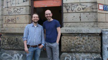Ralf Knauthe und Matthias Klotz leiten den Stoffwechsel e.V.