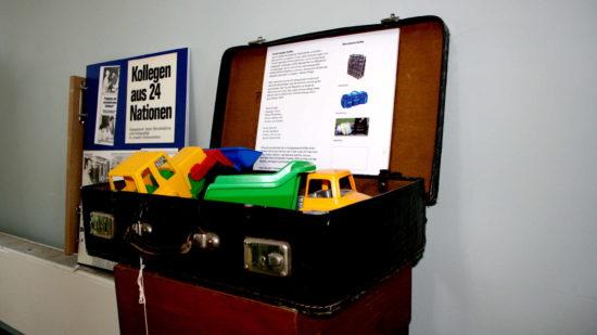 Der Koffer - ein Symbol der langen Reise