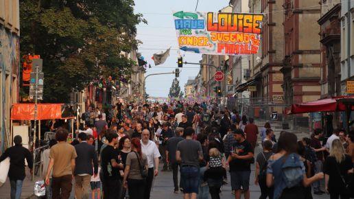 Eindrücke von der Louisenstraße