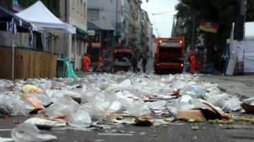 Ein Meer aus Plaste-Müll