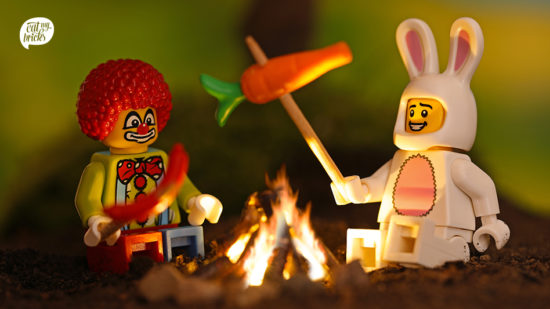 """Kleine Figuren - große Szenen in der Ausstellung """"Legoneom"""""""