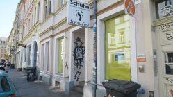 Schau-Fuss auf der Rothenburger Straße