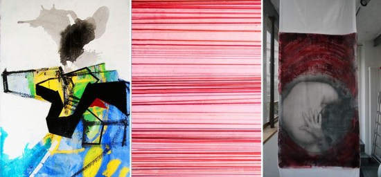 Werke der Künstlerinnen Anke Ewers, Susanne Hampe und Karen Kling