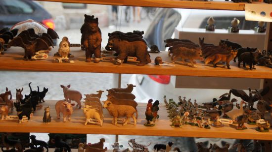 Begehrte Spiel- und Sammlerobjekte: Tiere der Firma Schleich