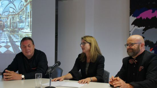 Prof. Jörg Schöner, Annekatrin Klepsch, Thomas Kübler