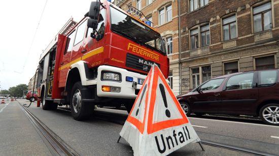 Unfall auf der Fritz-Reuter-Straße