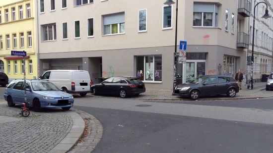 Falschparkerparadies Hecht-Viertel?