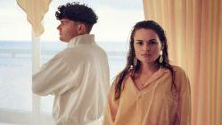 Ätna: Drummer Demian und Sängerin Inéz