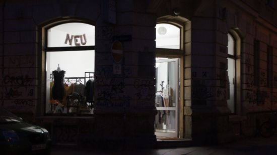Jetzt hell erleuchtet: Der Eckladen Jordan-/Förstereistraße