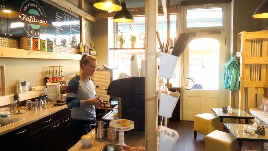 Gemütliches, kleines Café an der Königsbrücker Straße