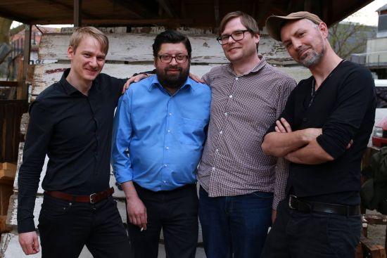 Sax Royal: Roman Israel, Max Rademann, Michael Bittner und Stefan Seyfarth - Foto: Christiane Michel