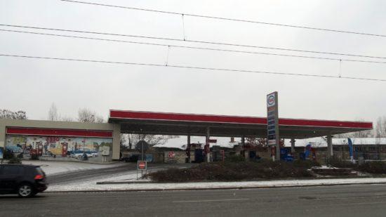 Zum zweiten Mal überfallen: Esso-Tankstelle an der Leipziger Straße