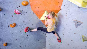 Klettern in Bouldercity - Foto: St. Böhlig