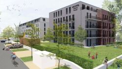 Das zweite Gebäude zwischen Haupthaus und Elberadweg hat 52 Zimmer. Quelle: USD Immobilien