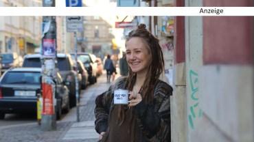 Julia ist Neustadtkind und Tassenverkäuferin