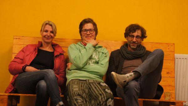 """Kerstin, Bene und Nils: """"Bereit für das Foto"""""""