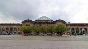Der Bahnhof Neustadt am Schlesischen Platz