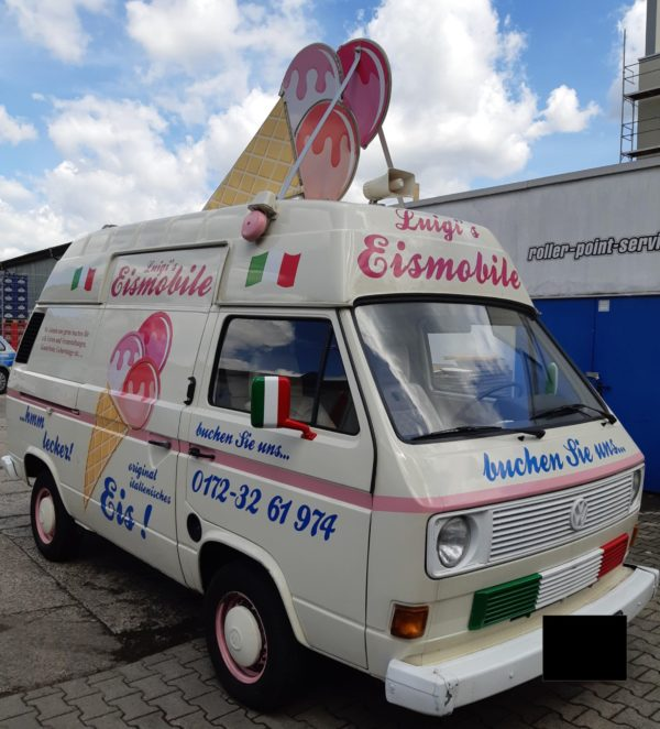 Gestohlen: Luigi's Eismobil