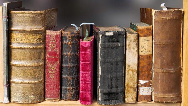 Bücher vom Bücherhausdienst bringen lassen.