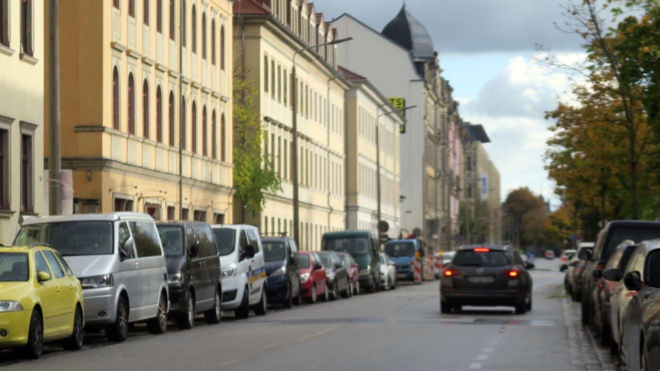An der Glacisstraße werden Leitungen saniert.