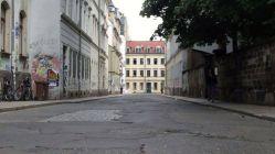 Neustadt autofrei - das gibt es sonst nur zur Bunten Republik Neustadt - wie hier die Pulsnitzer Straße. Foto: Archiv 2013