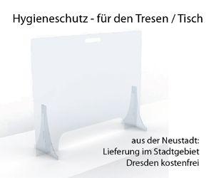 Der Hygieneschutz fürs Geschäft - aus der Neustadt