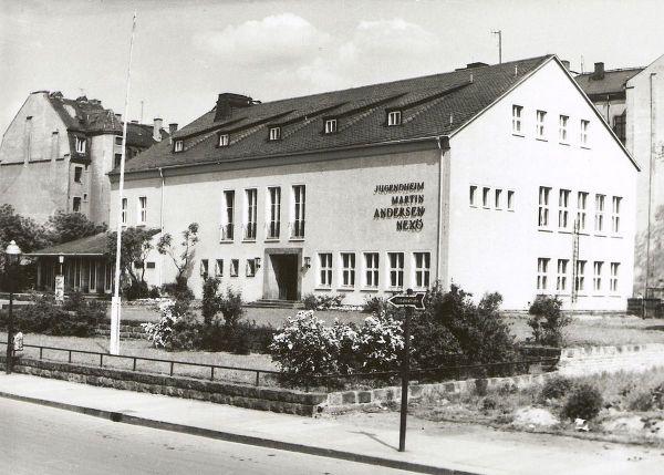 Jugendheim Martin Andersen Nexö in den 1960ern. Foto: Scheune-Archiv