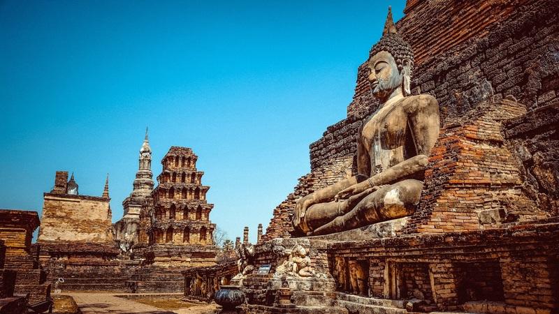Patrimoine mondial de l'UNESCO: Sukhotaï en Thaïlande