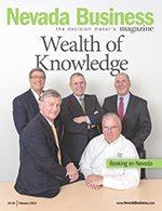 Nevada Business Magazine February 2013 Issue